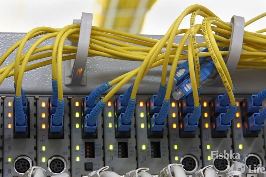 оборудование для оптоволоконных сетей