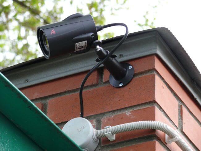 аналоговая система видеонаблюдения