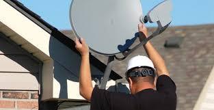 установка антенн спутникового тв