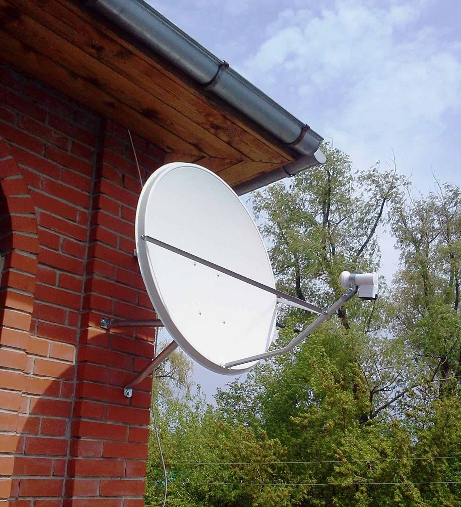 установка и настройка спутниковое телевидение