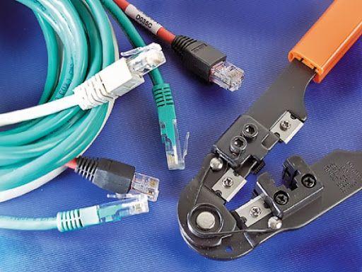 инструменты для прокладки локальной сети