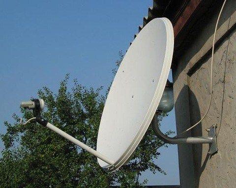 спутниковое телевидение установка антенн