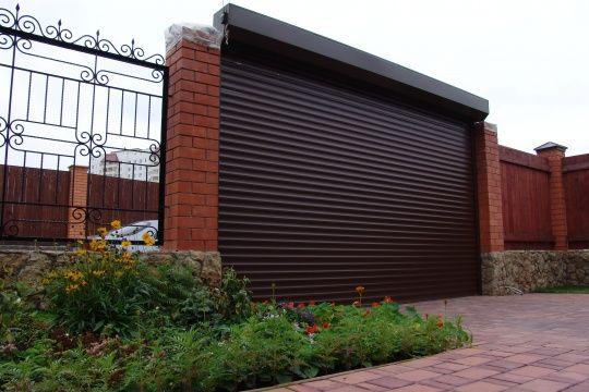 автоматические ворота на гараж установка